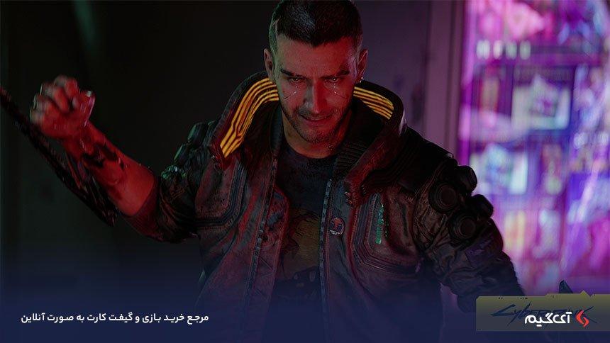 شخصیت اصلی بازی Cyberpunk 2077