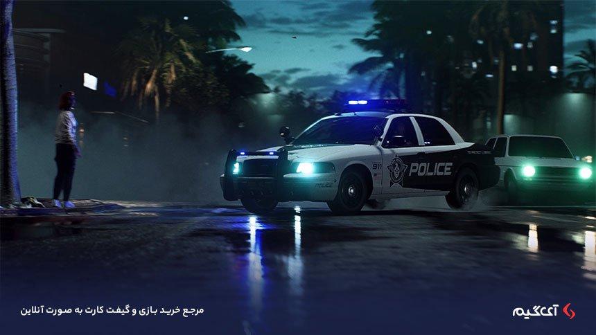 پلیس های بازی Need for speed heat