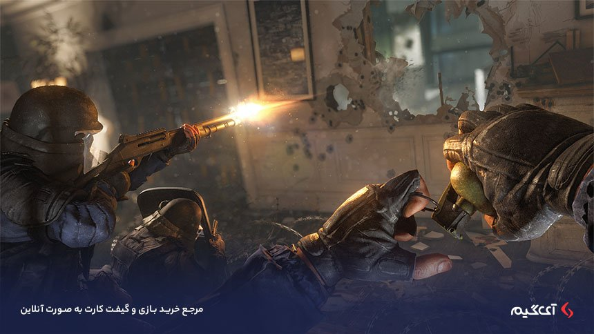 گیمپلی بازی Tom Clancy's Rainbow Six Siege