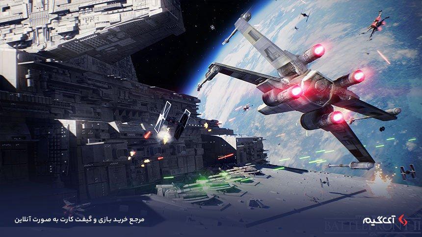 نبرد های حماسی بازی جنگ ستارگان 2