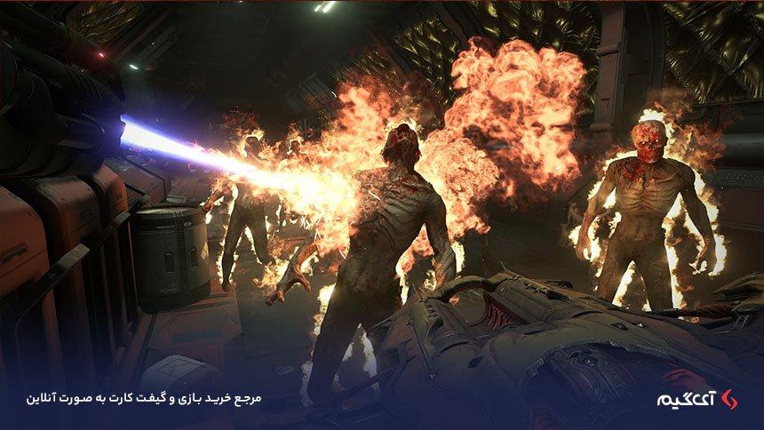 محیط بازی Doom Eternal