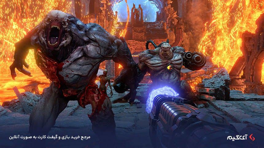 هیولاهای بازی Doom Eternal