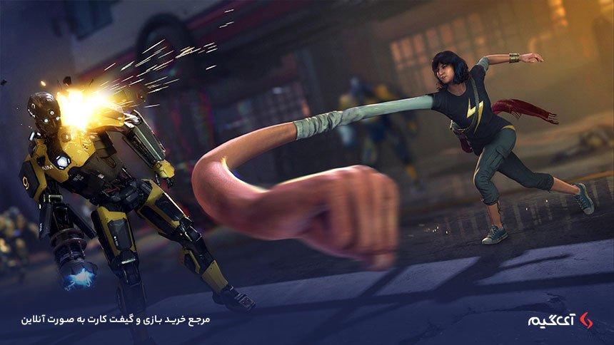 قدرتهای خانم مارول در بازی انتقام جویان