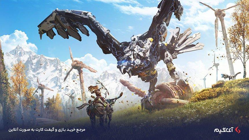 دنیای آینده نگر بازی Horizon Zero Dawn