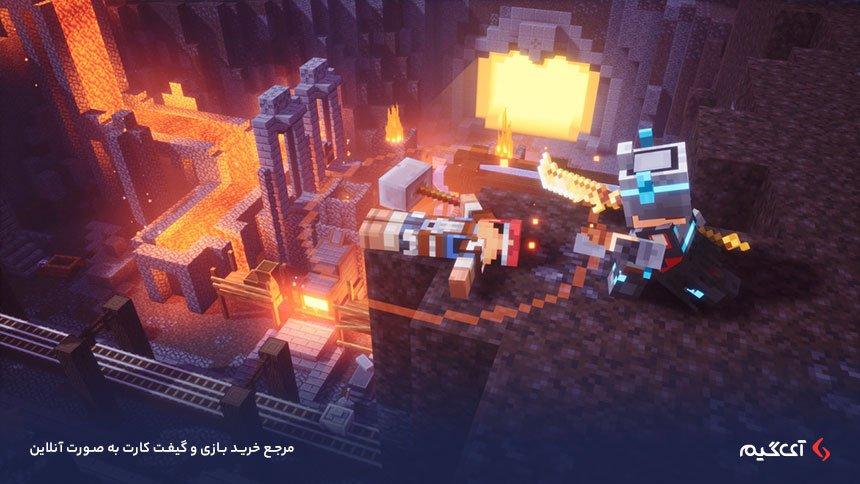 گیم پلی منحسر به فرد بازی Minecraft Dungeons