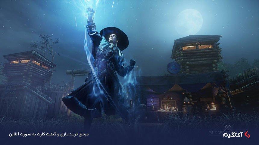استفاده از قدرت های جادویی در بازی نیو ورلد