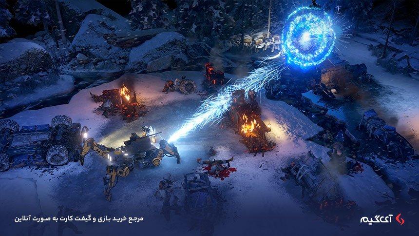 استفاده از ماشین های مختلف در بازی Wasteland 3