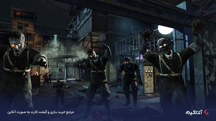 کاراکترهای بازی Call of Duty Black Ops     Zombies Chronicles