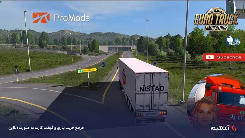 بازی Euro Truck Simulator 2 - Scandinavia
