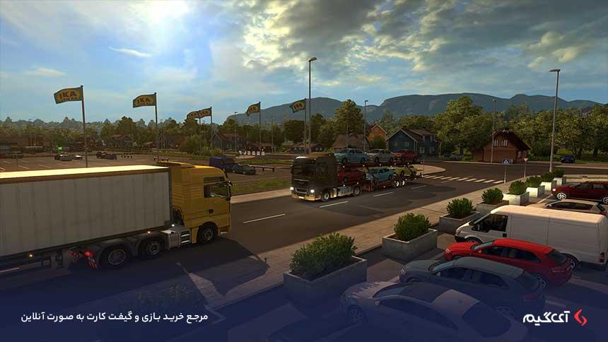 حالتهای بازی Euro Truck Simulator 2 - Scandinavia