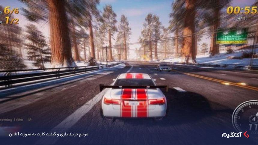 حالتهای بازی Dangerous Driving