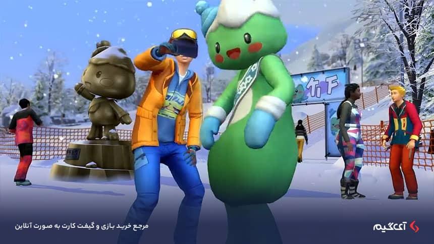 بسته الحاقی The Sims 4 Snowy Escape