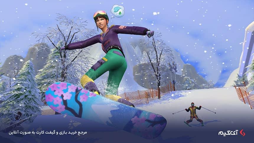 کاراکترهای بازی The Sims 4 Snowy Escape