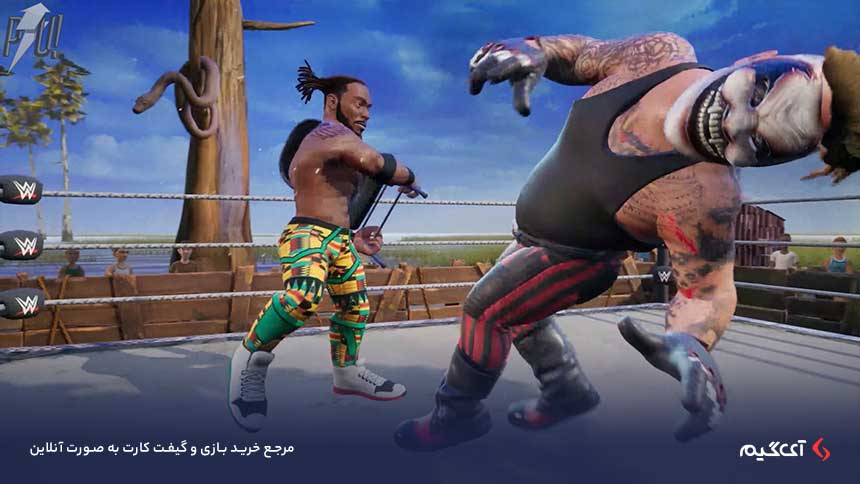 داستان بازی WWE 2K Battlegrounds