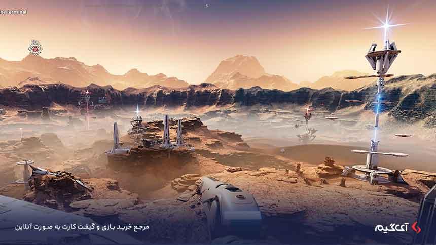 گیم پلی بازی گمشده در مریخ